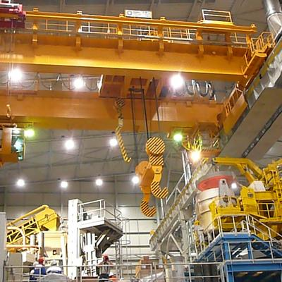 crane 130/40/10 t x 21 m - production of cranes